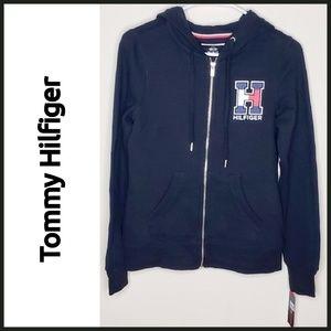 NWT Tommy Hilfiger Zip-up Hoodie